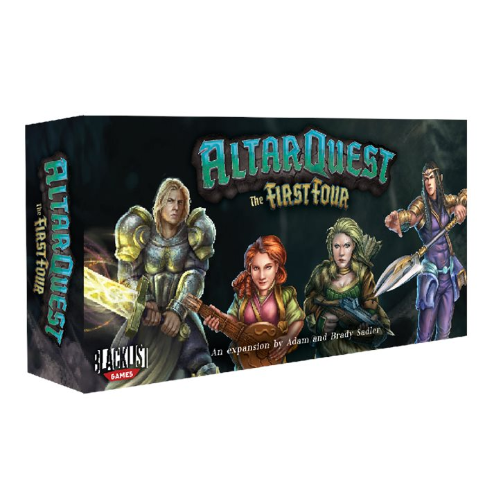 """Altar Quest - """"First Four"""" hero pack (Late Pledge Limited Quantities)"""