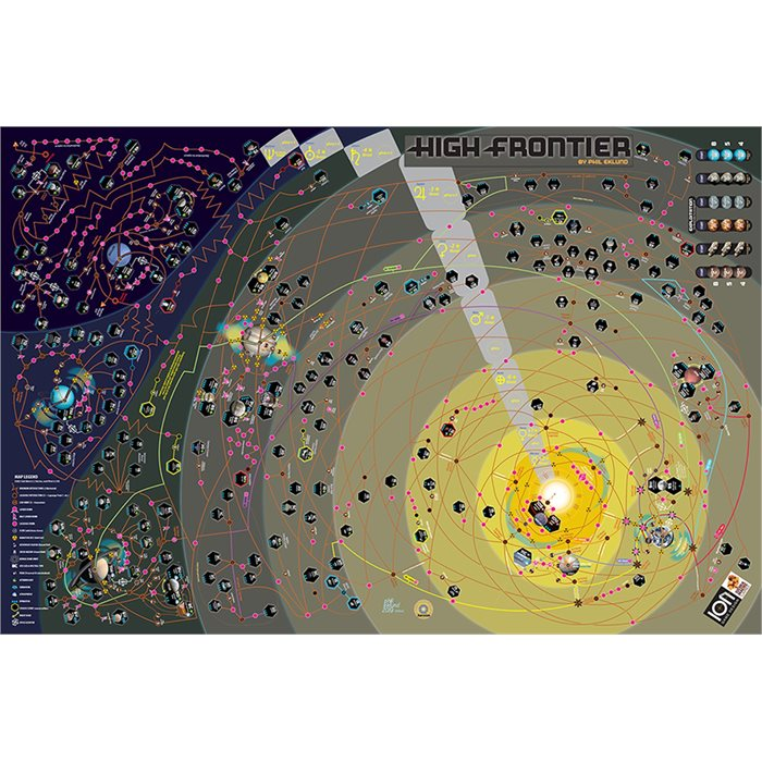 Neoprene mat High Frontier 4 All map