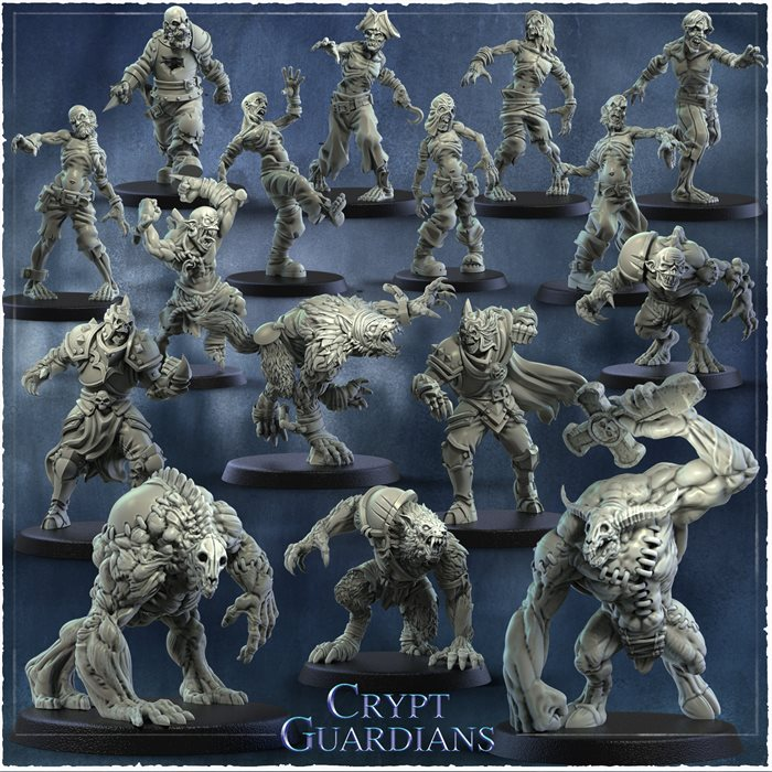 Crypt Guardians Full Team