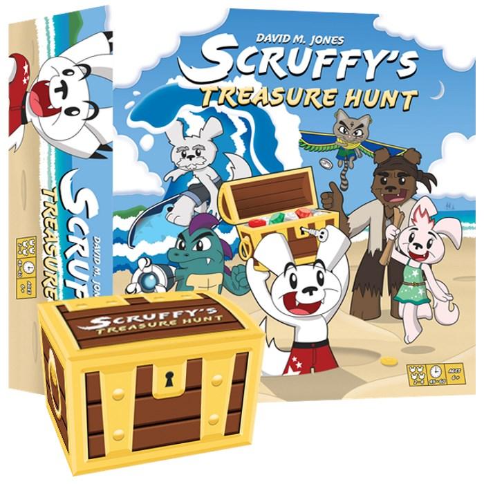 Scruffy's Treasure Hunt + Treasure Chest