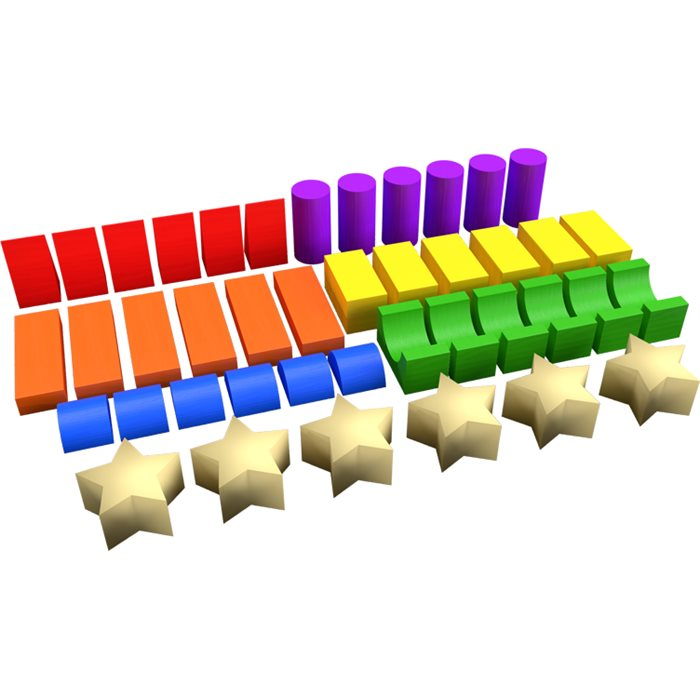 Colored Blocks (Extra Set)