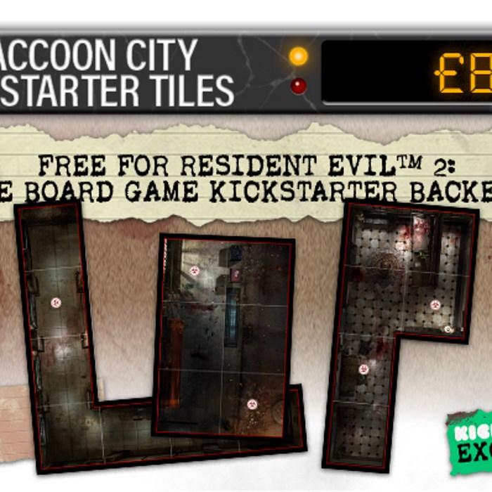Raccoon City Kickstarter Tiles