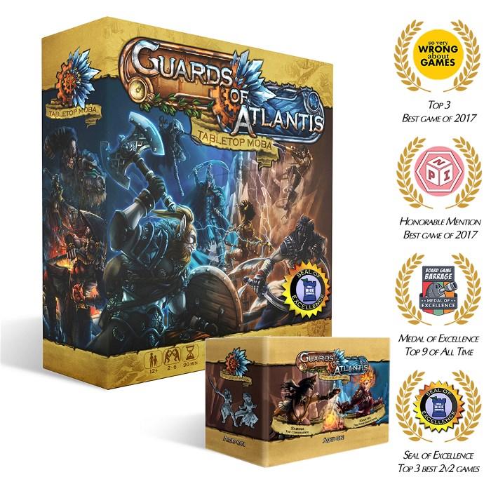 Guards of Atlantis (2017) + Expansion