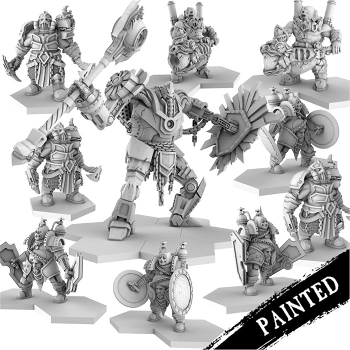 Painted dvergar Faction Resin Bundle