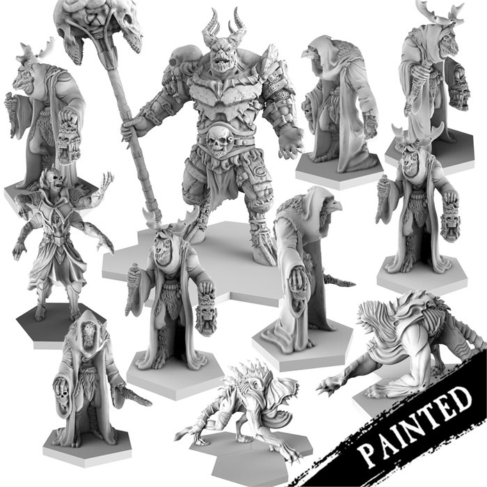 Painted demon Faction Resin Bundle