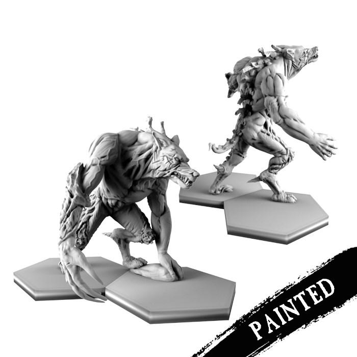 Painted werewolfs
