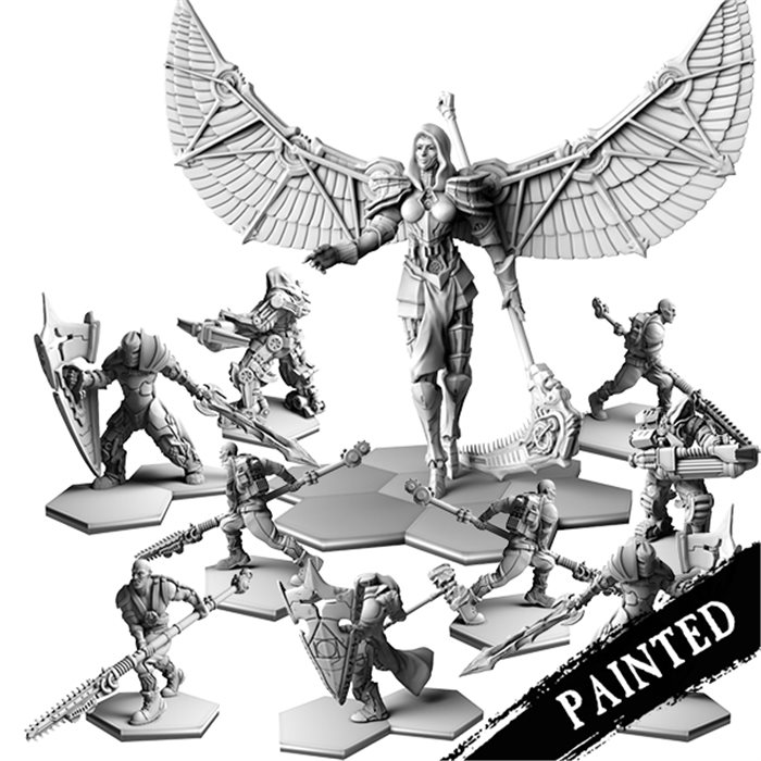 Painted chapter Faction Resin Bundle