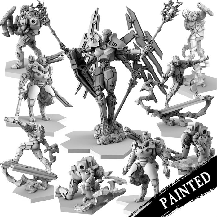 Painted rha zack Faction Resin Bundle