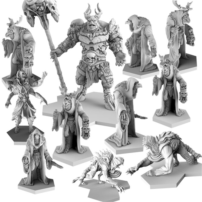 demon Faction Resin Bundle