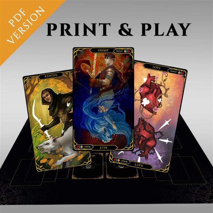 Print & Play - Digital FATUM Pledge