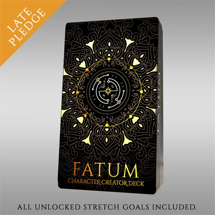 Extra copy of FATUM - Character creator Deck - Late Pledge