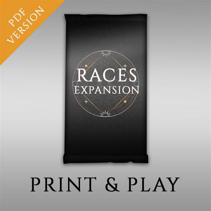 Print & Play - Digital Mythological Races Add-on