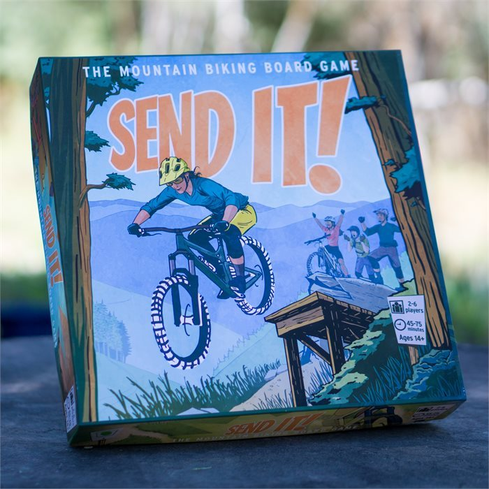 3-pack SEND IT! The Mountain Biking Board Game