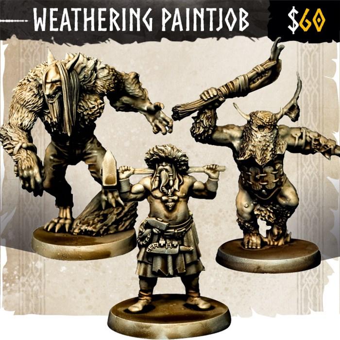 Weathering Paintjob Option