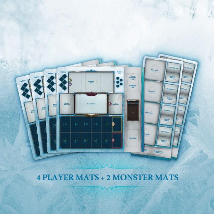 Frost Mercenary Quartet vs Monsters MEDIUM