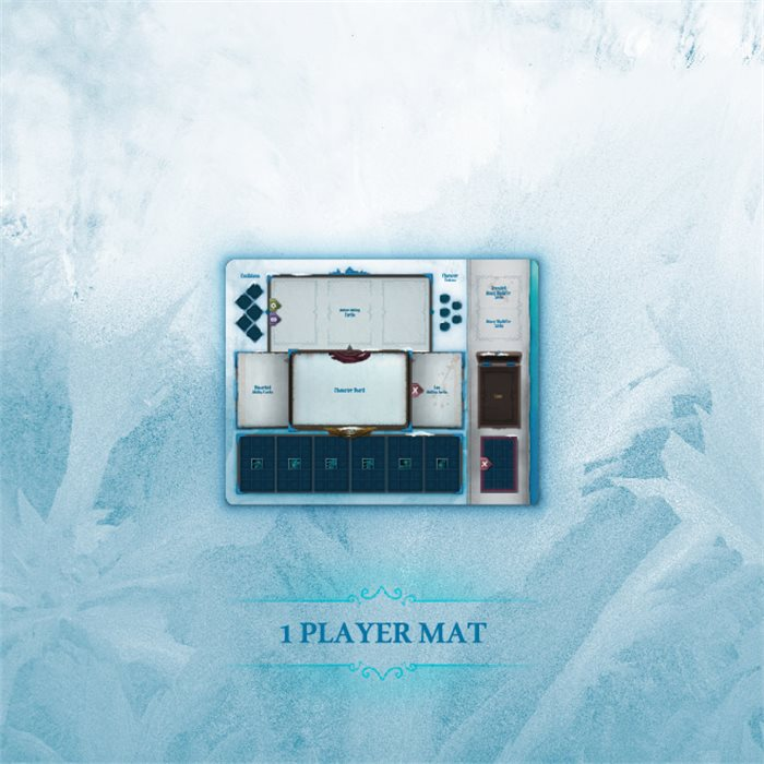 Frost SMALL Player Mat