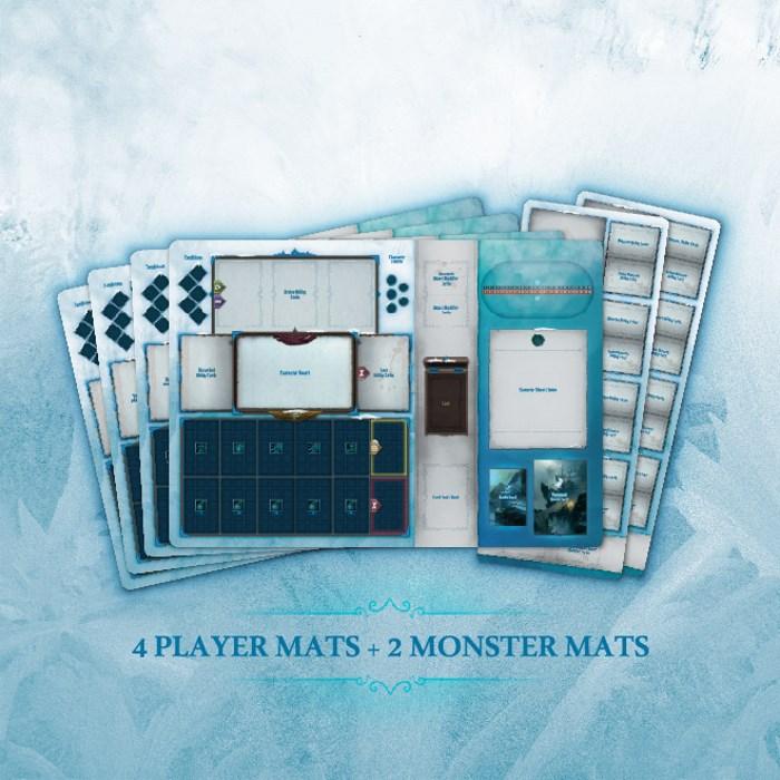 Frost Mercenary Quartet vs Monsters LARGE