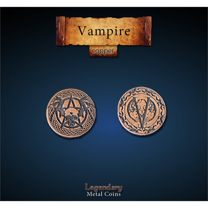 Vampire Copper Coins