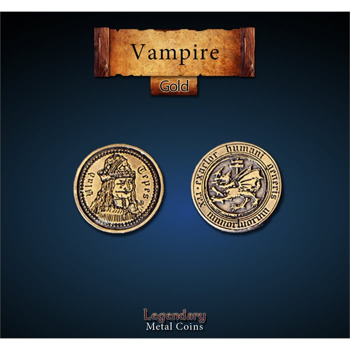 Vampire Gold Coins
