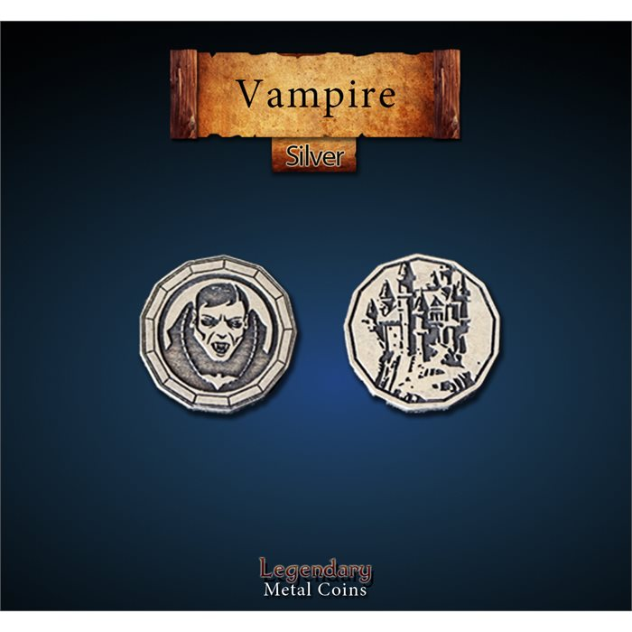 Vampire Silver Coins