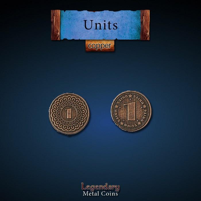 Units Copper Coins