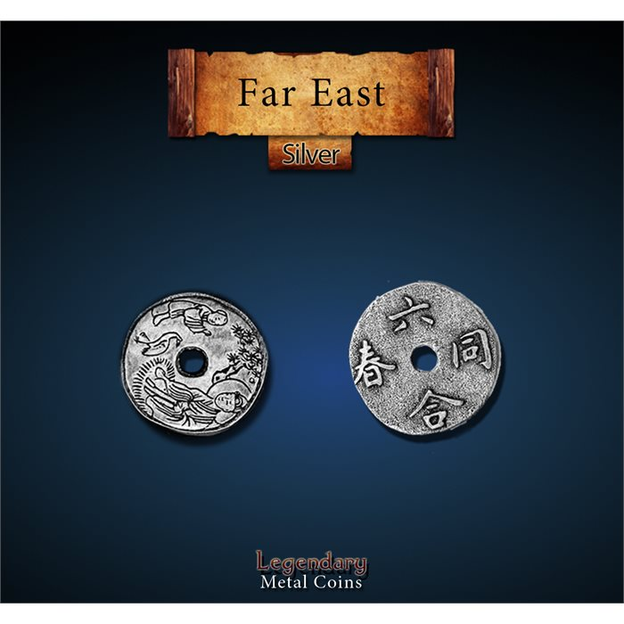 Far East Silver Coins