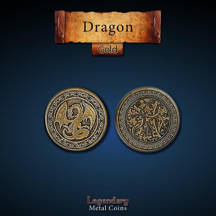 Dragon Gold Coins