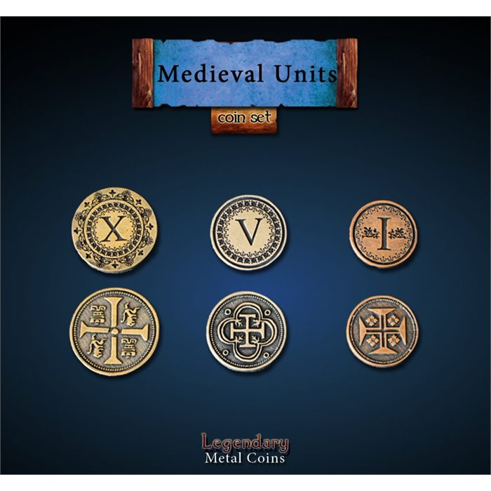 Medieval Units Coin Set