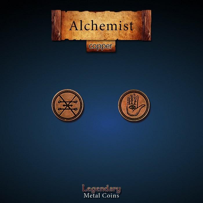 Alchemist Copper Coins