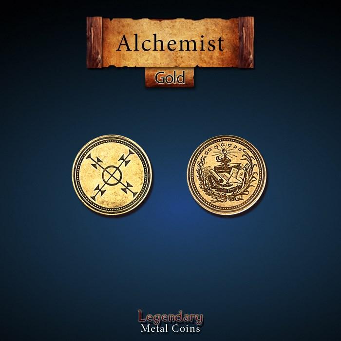 Alchemist Gold Coins