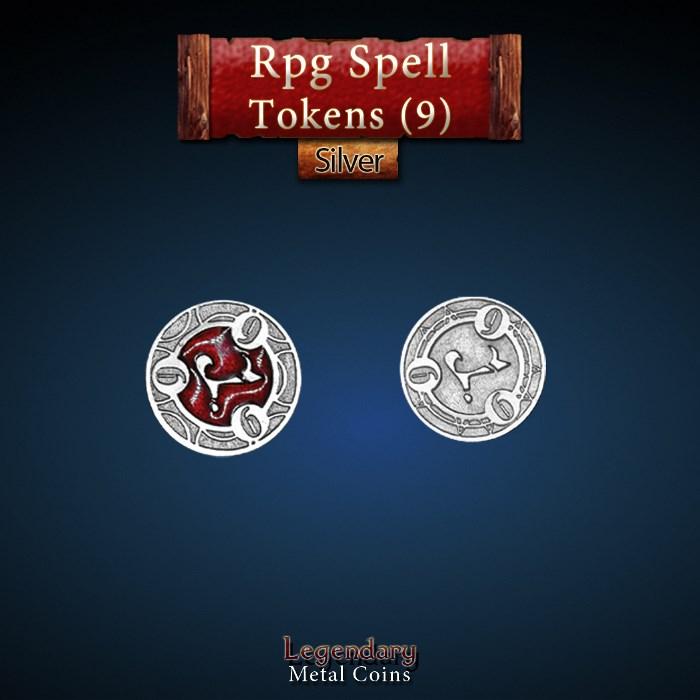 RPG Spell Token 9