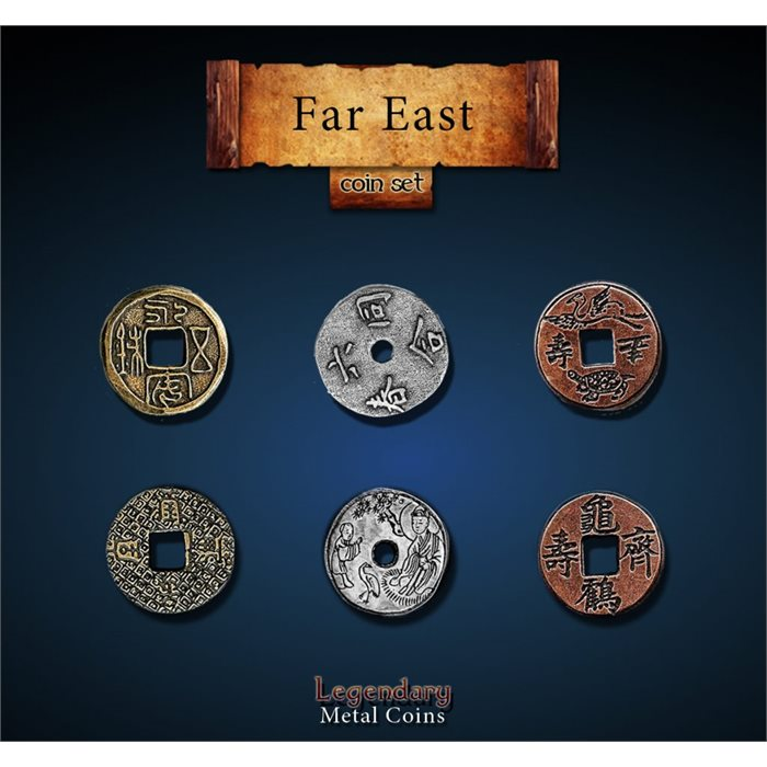 Far East Coin Set