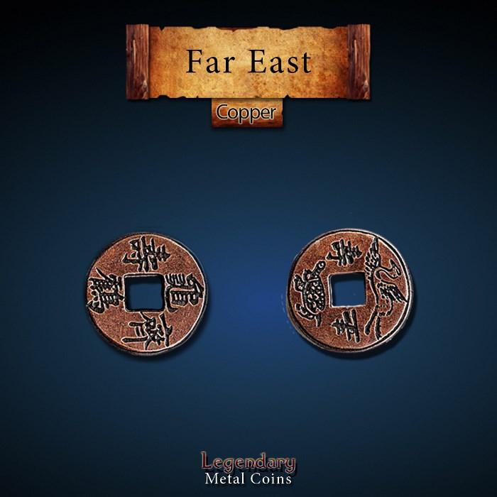 Far East Copper Coins