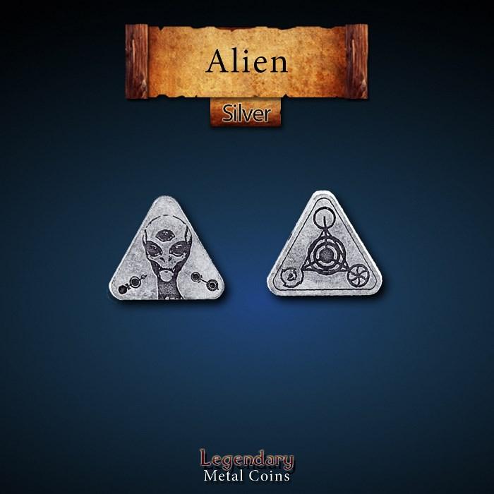 Alien Silver Coins
