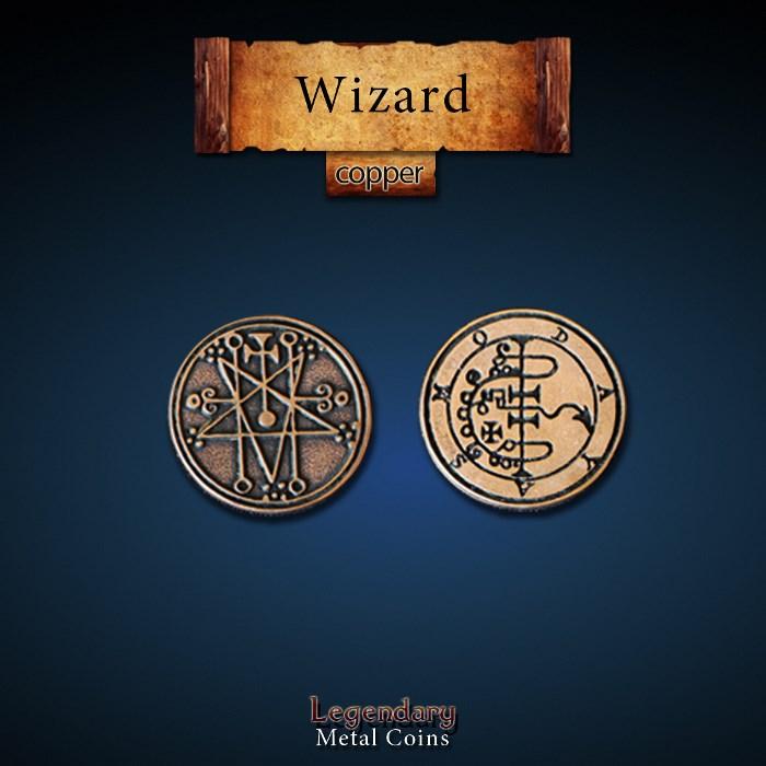 Wizard Copper Coin