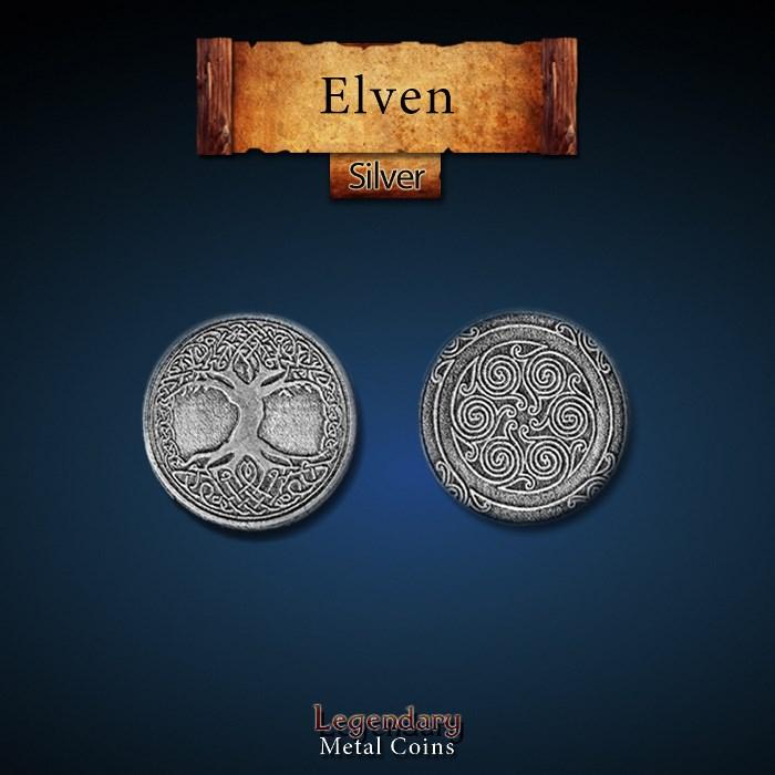 Elven Silver Coin