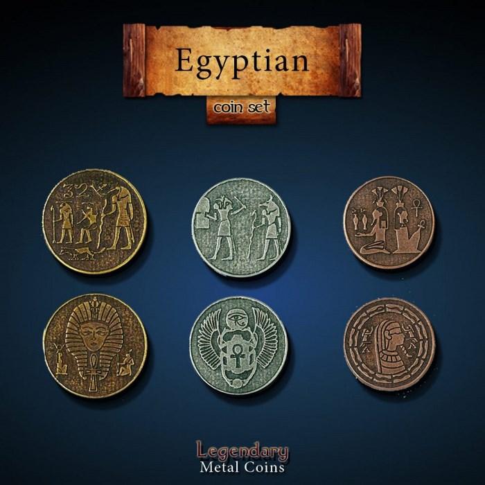Egyptian Coin Set