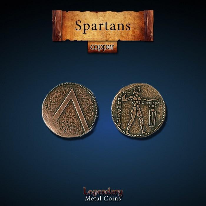 Spartan Copper Coins