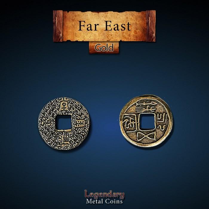 Far East Gold Coins