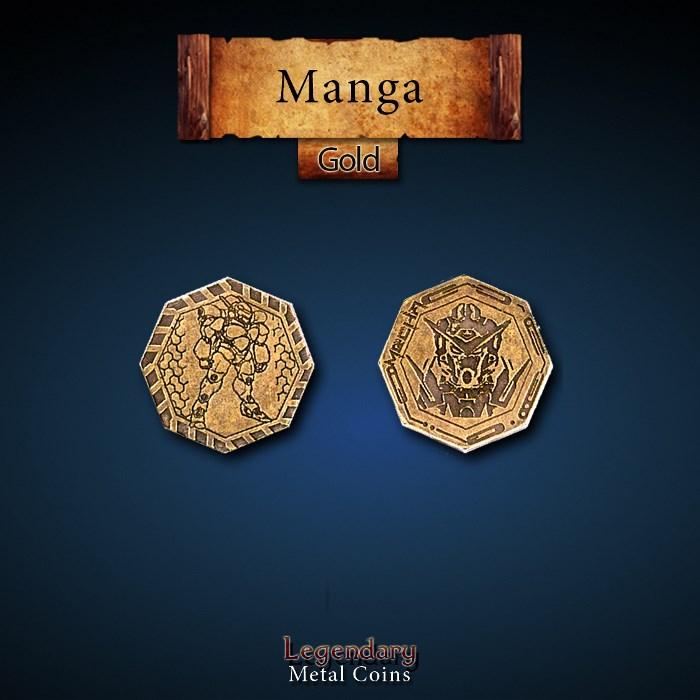 Manga Gold Coins