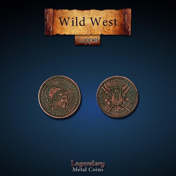 Wild West Copper Coins