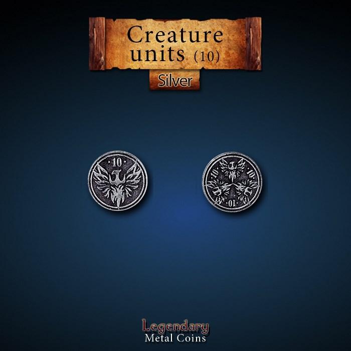 Creature Unit Silver 10 Coins