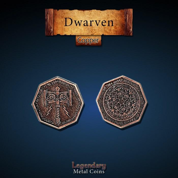 Dwarven Copper Coins
