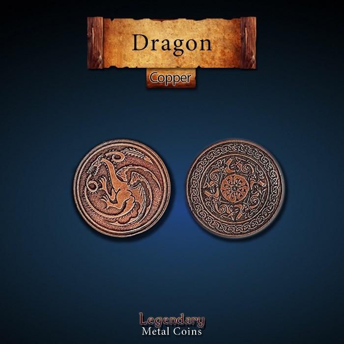 Dragon Copper Coins