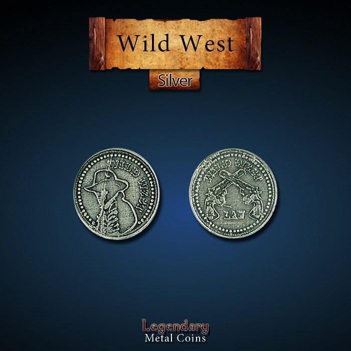 Wild West Silver Coins