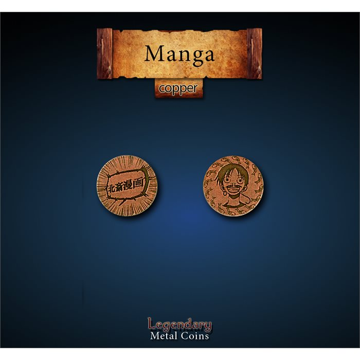 Manga Copper Coins