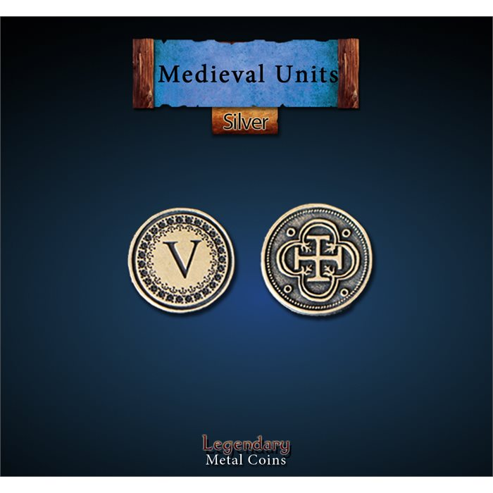 Medieval Units Silver Coins