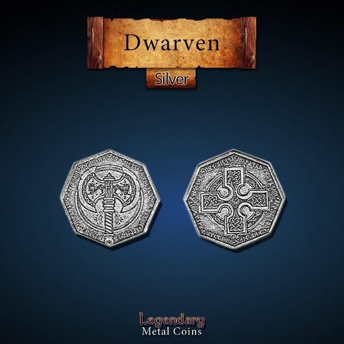 Dwarven Silver Coins