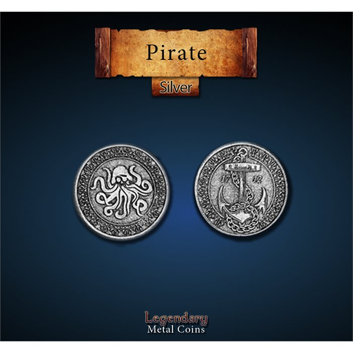 Pirate Silver Coins
