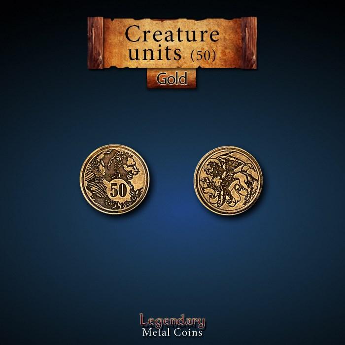 Creature Unit Gold 50 Coins